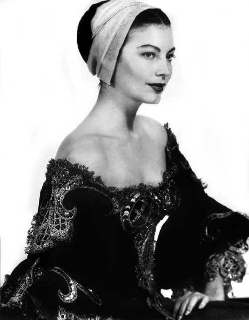 Man Ray Ava Gardner